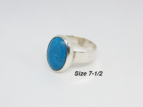 Turquoise & Sterling SIlver (7-1/2)