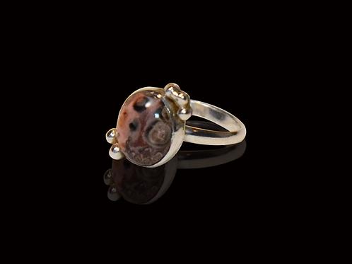 Spotted Jasper Ring