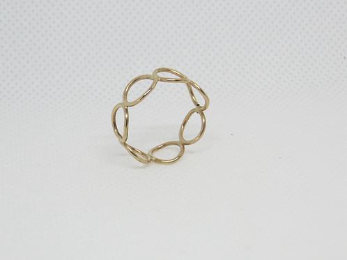 Ring Rings 14K G.F (6-1/2)