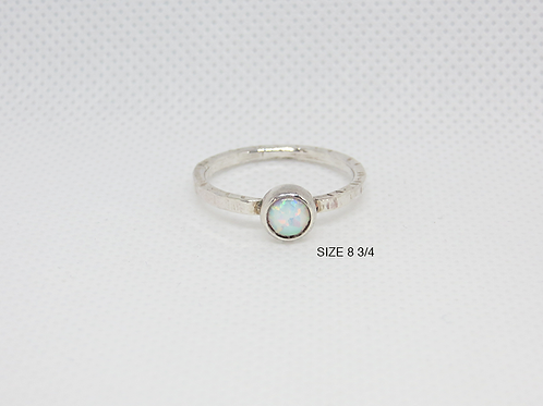 Synthetic Opal Ring (8-3/4)