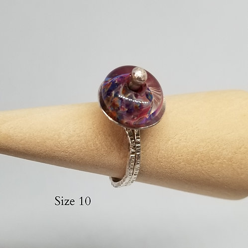 Borosilicate cocktail ring