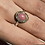 Thumbnail: Sterling Silver Rhodonite Cabochon Ring (7)