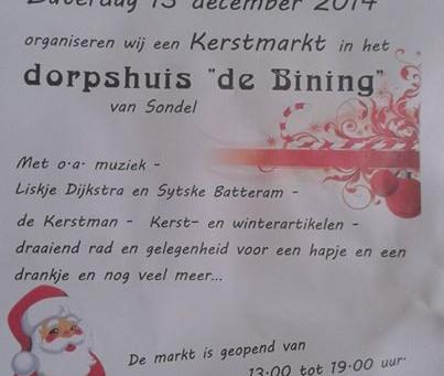 Kerstmarkten 12 en 13 december