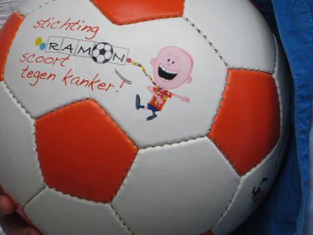 W.K. Voetbal actie 'Ramon scoort…