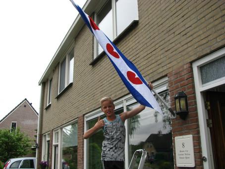 De vlag uit voor Ramon!
