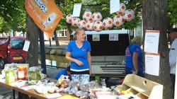 Ramon scoort tegen kanker Poppodium vrijmarkt Balk foto 11.jpg