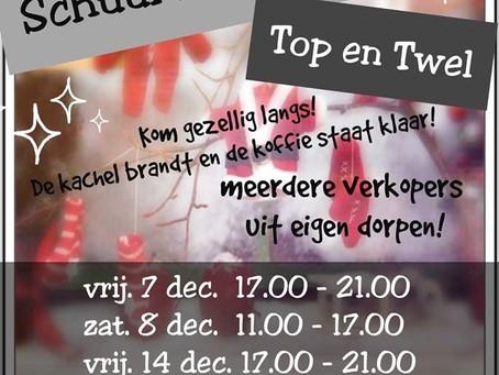 Opbrengst kerstschuurverkoop in Top&Twel € 61,50