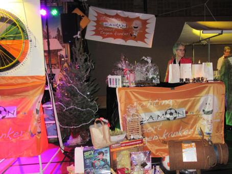Opbrengst draaiend rad/ kerstmarkt de Fryske Marren € 622,20