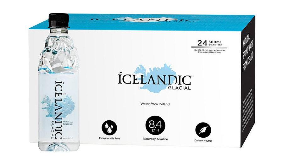 Icelandic Glacial 500mL One case of 24 bottles