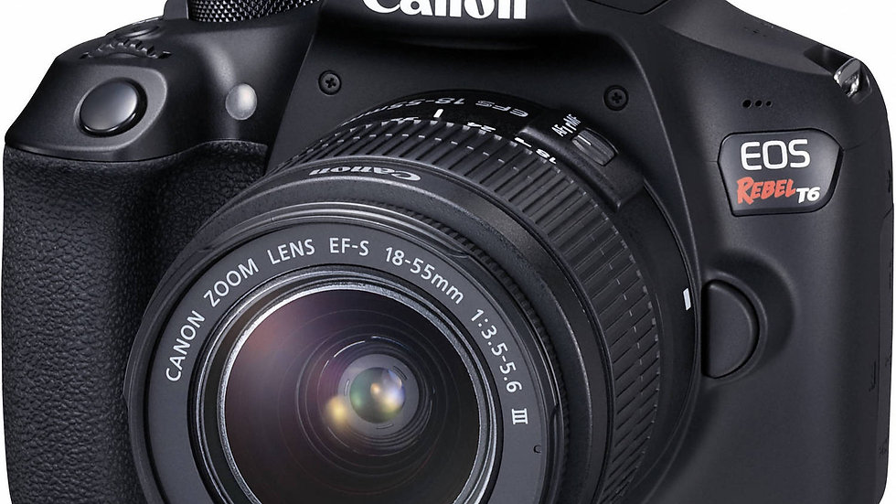 Canon EOS Rebel T6 DSLR