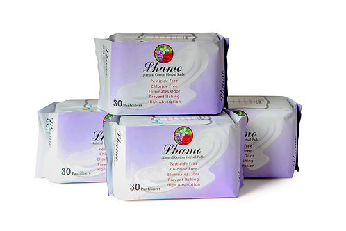 All Natural Cotton Herbal Pads