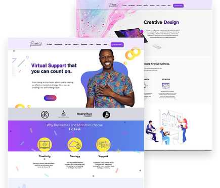 Custom Multi-Page Website(Up to 7 pages)