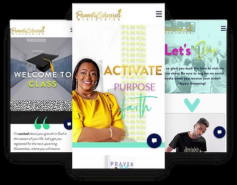 Custom Three Page Website Design