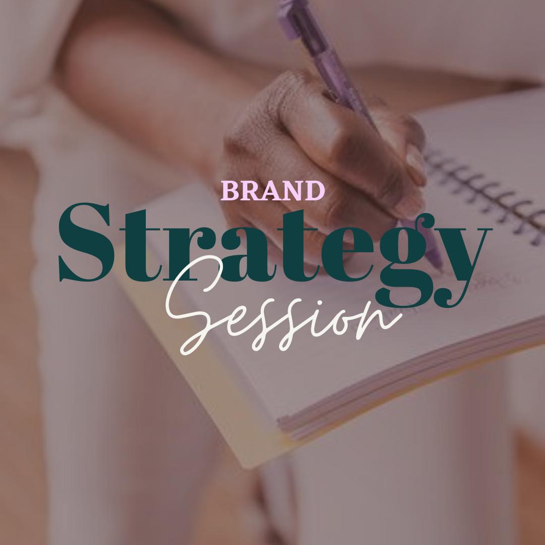 15 min Brand Strategy Session