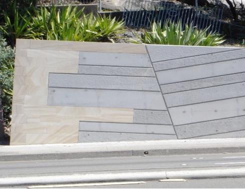 Block wall installation