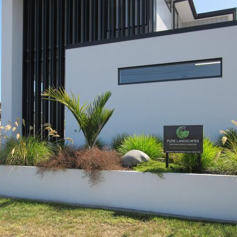 Landscape design & full landscaping Harwood Homes Showhome