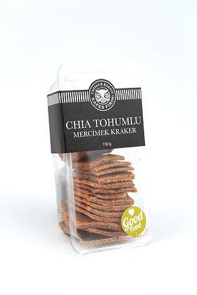 Chia Tohumlu Mercimek Kraker