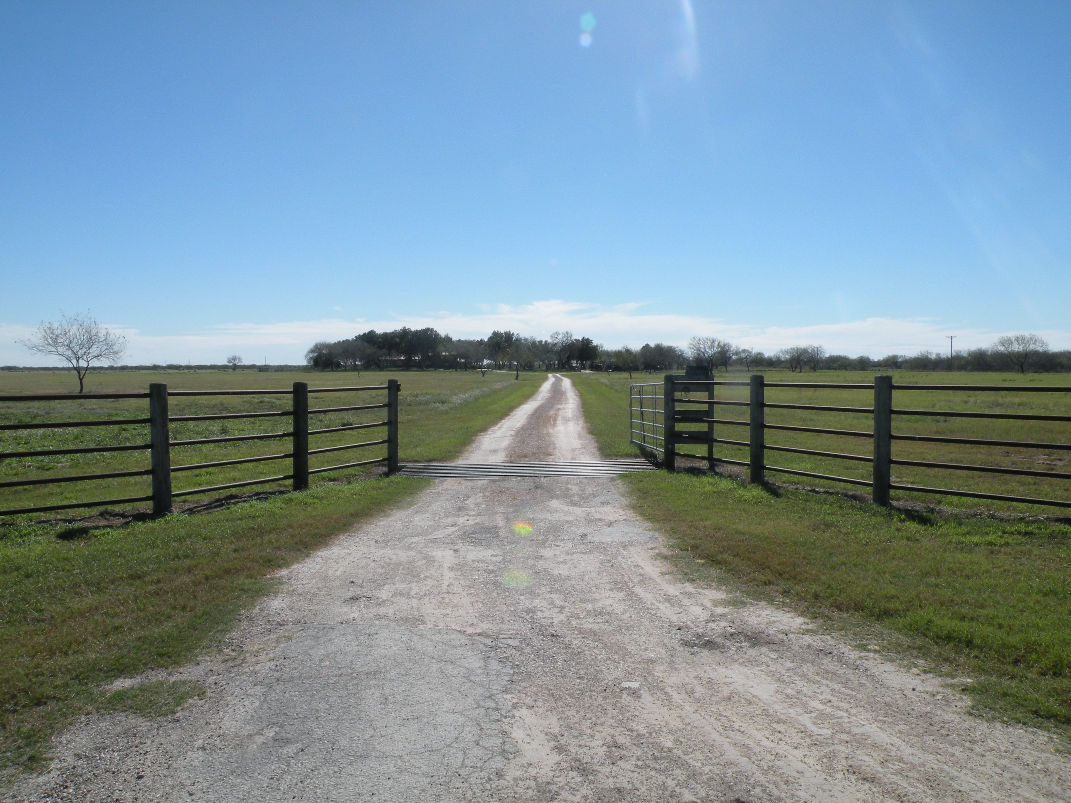 Main Entrance to Property