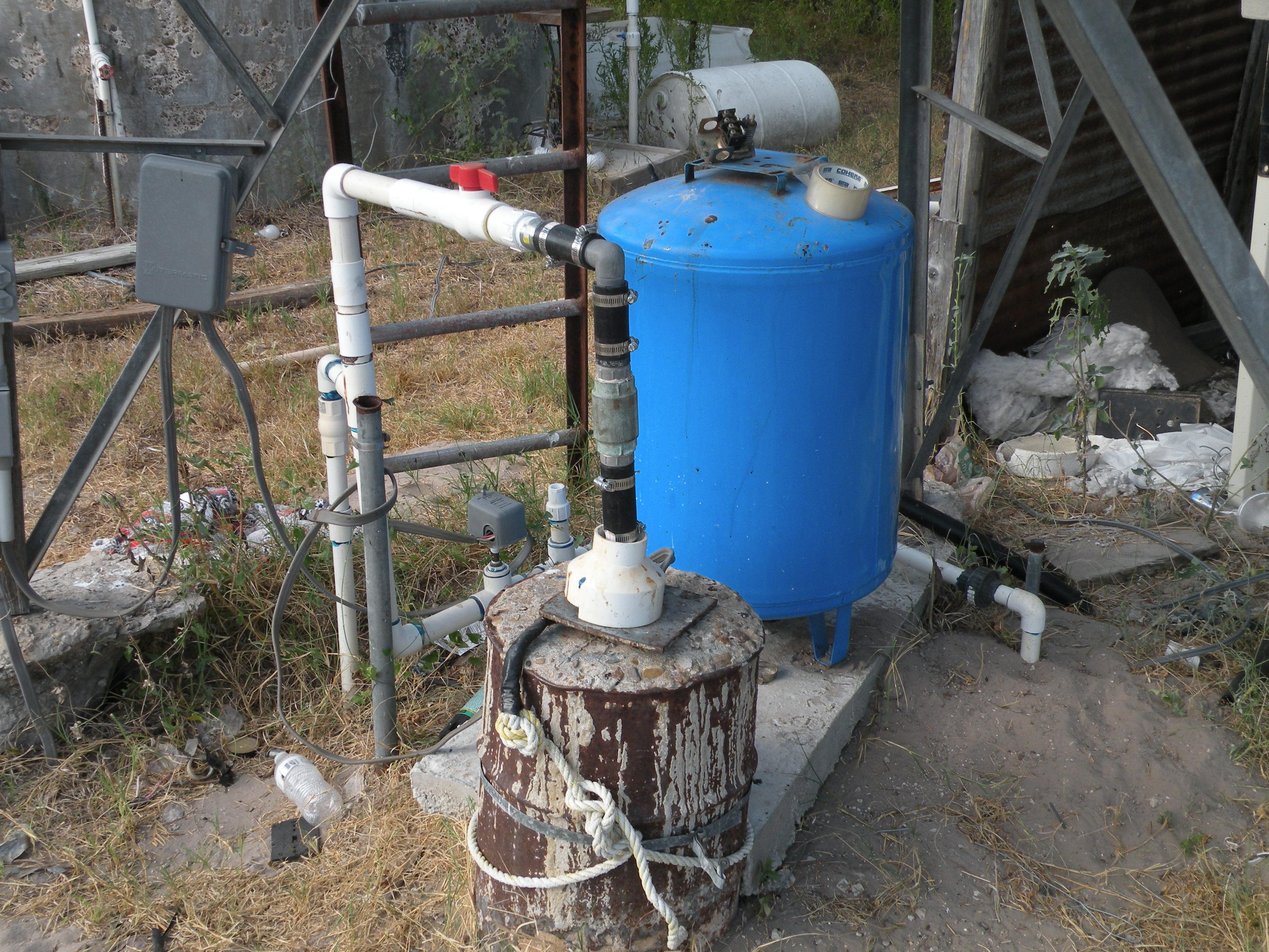 Waterwell & Pressure Tank