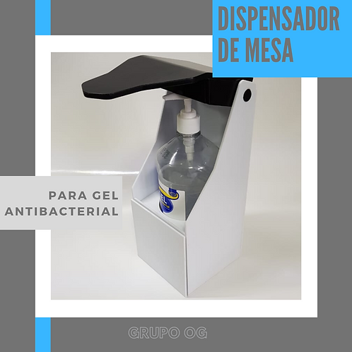 Dispensador Antibacterial Regulable y Fijo