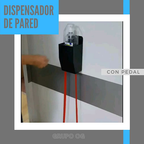Dispensador Antibacterial Pared