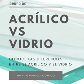 Diferencia entre el Acrílico y el Vidrio