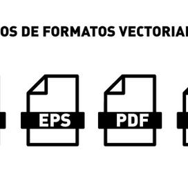 ¿Cuáles son los formatos vectoriales y cuándo usar cada uno?