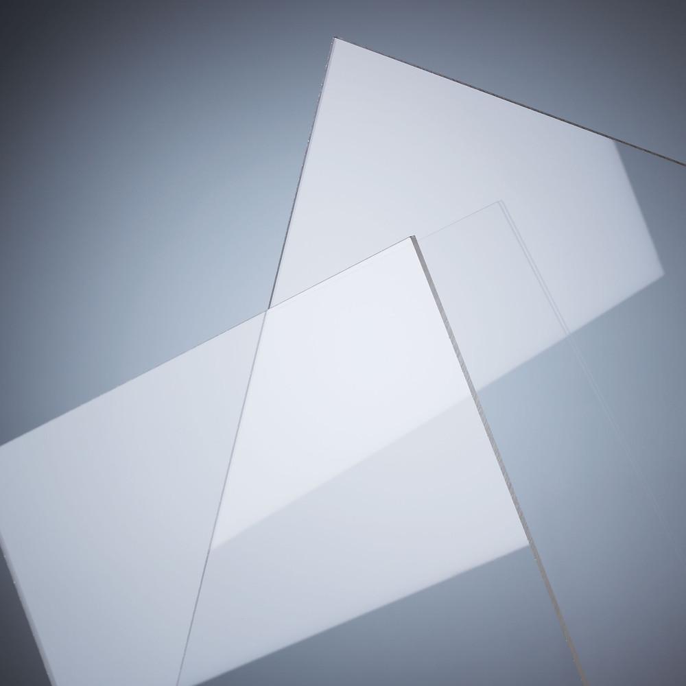 Lámina de acrílico - Color: Transparente