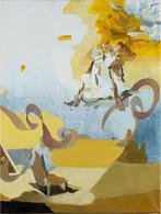 四风#3,  布面油画,  40 × 30 cm 2020