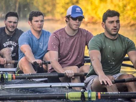 UB Rowing Athlete of the Week Nico Rapini