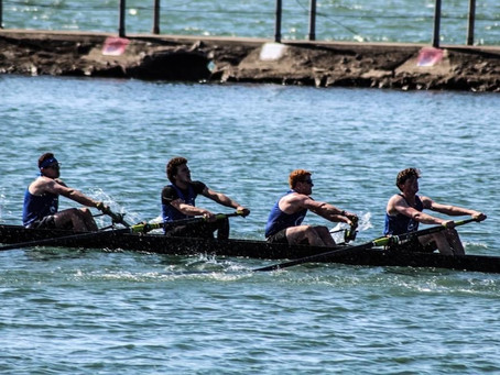 UB Rowing Athlete of the Week Jack Gulla