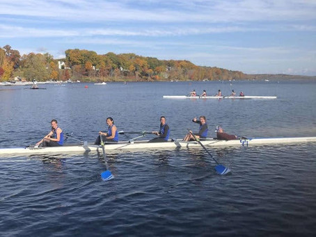UB Rowing Athlete of the Week Allison Virgo