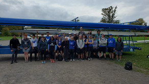 UB Rowing Competes at First Race Since 2019