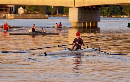 UB Rowing Athlete of the Week Pierce Doud