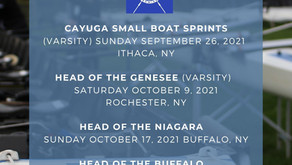 UB Rowing Announces 2021 Fall Race Schedule