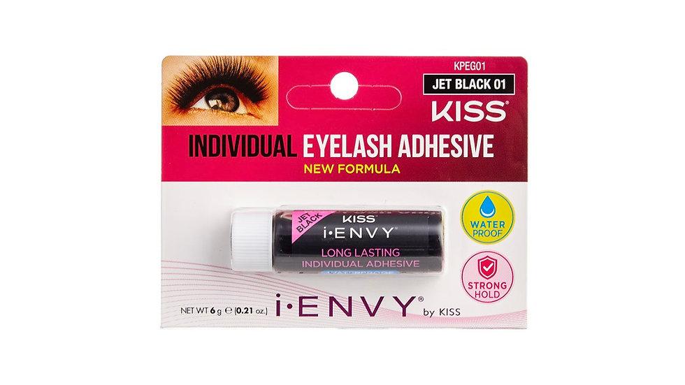 Kiss I Envy Individual Lash Adhesive JET BLACK 01