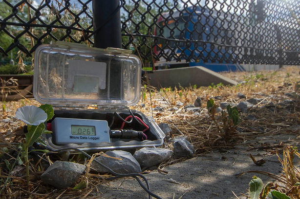 data logger, stray current, light rail system