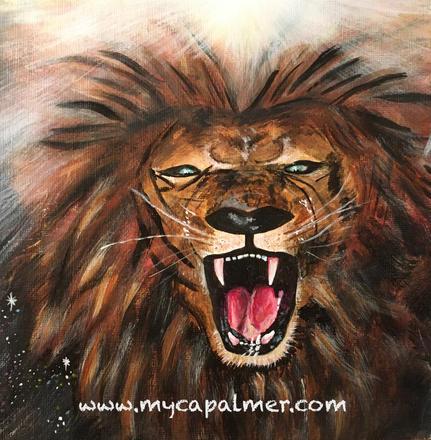 Ma Durgha's lion