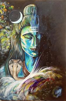 Lord Shiva - cosmic lover