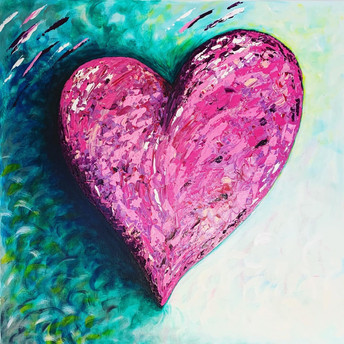 HEARTS ARE LOVE - PINK