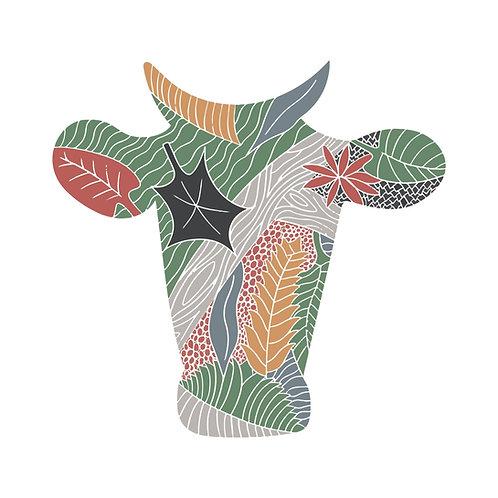 Wild Bull Print