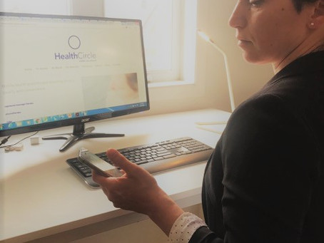 Chantal with HealthCircle Mobile