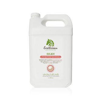 SILKY Rinse Out Moisturizing Conditioner for Coat, Mane & Tail - 4L Bulk Size