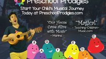 Music Lessons for Preschoolers!