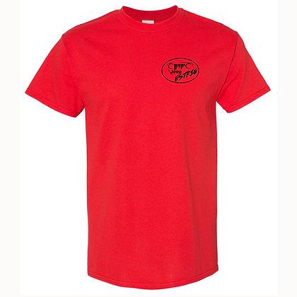 T-Shirt homme rouge (Black Logo Edition)