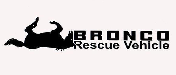 Sticker Rescue Bronco