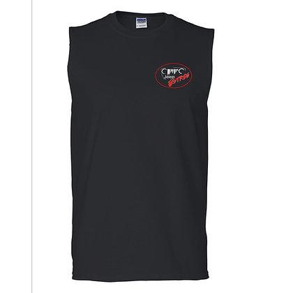 T-shirt homme sans manche noir