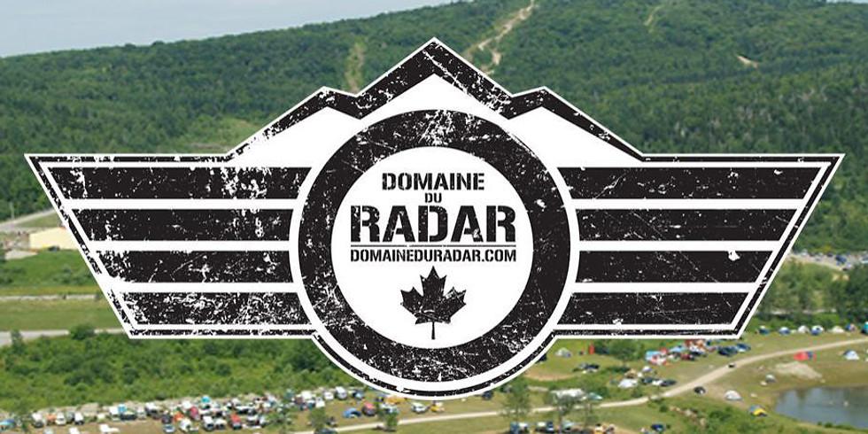 Sortie trail / camping Mont Radar