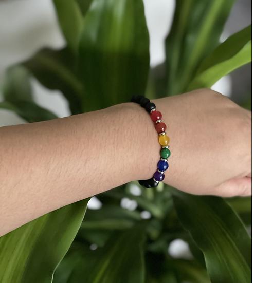 """Show Us Your Pride"" Gemstone Bracelet"