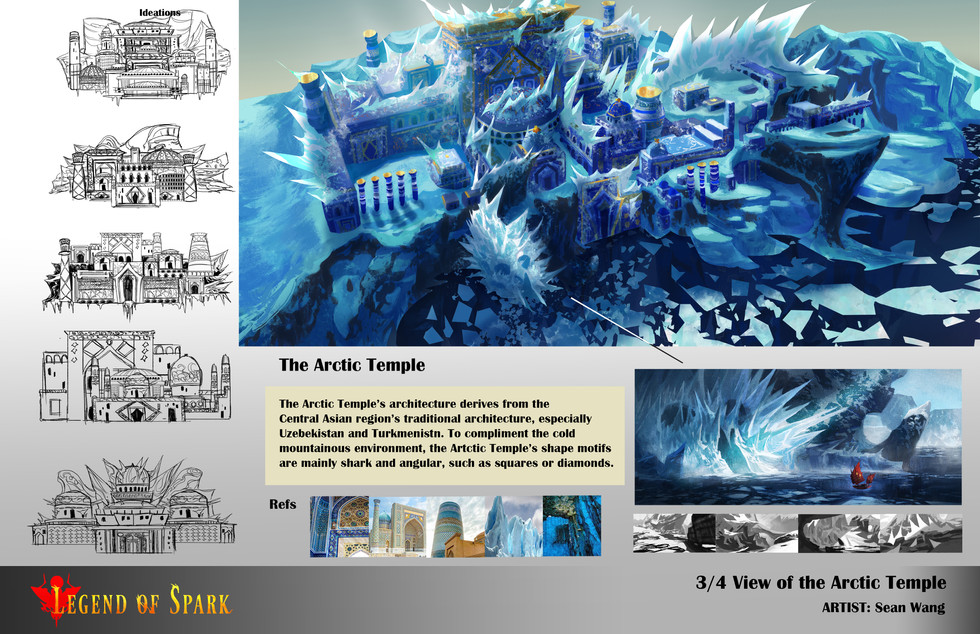 The Arctic Temple